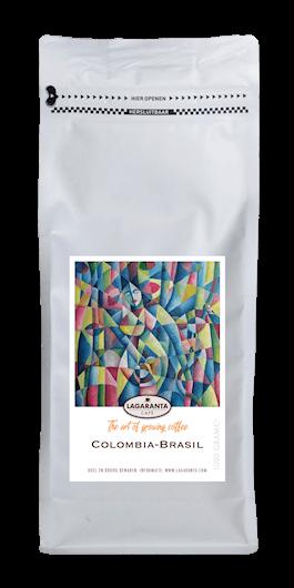 Lagaranta Colombia Brasil koffie wit