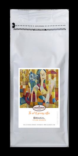 Koffiepak wit Brasil Yellow Bourbon
