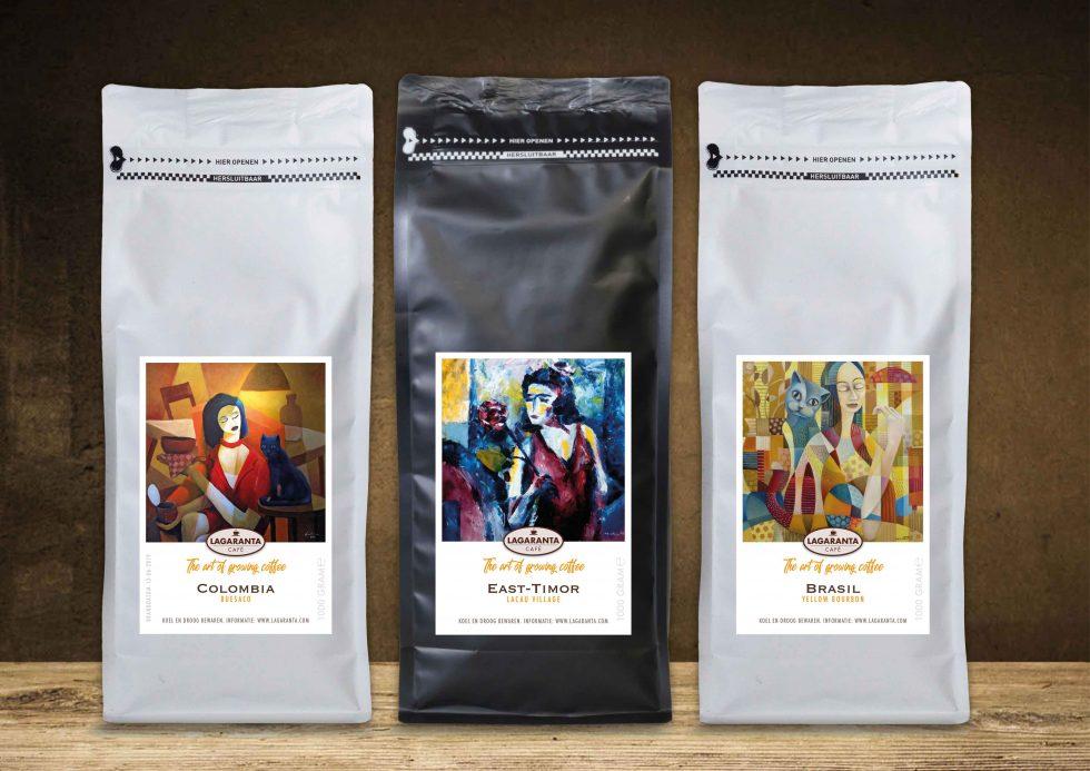 Lagaranta koffie van de plantage
