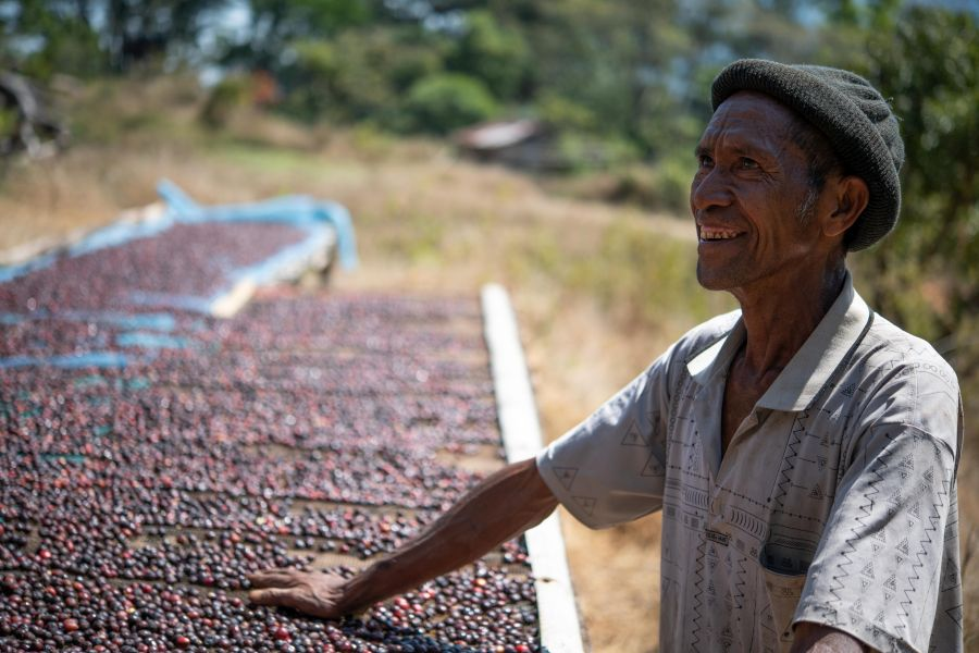 Lagaranta koffie van de plantage Hunda Babo