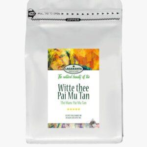 Witte thee Pas Mu Tan piramide